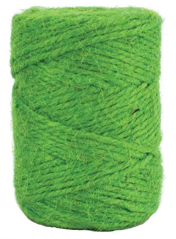 V29407 - Holiday Green Twine 50m Jute JT50.64 6/PK