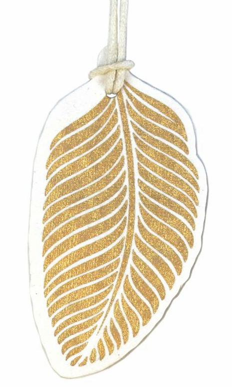 V37549 - Gold Leaf Tags Set of 4 - GT264.00 12/PK